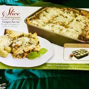 Extraordinary home product slice lasagna pan set